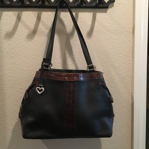 Brighton leather handbag